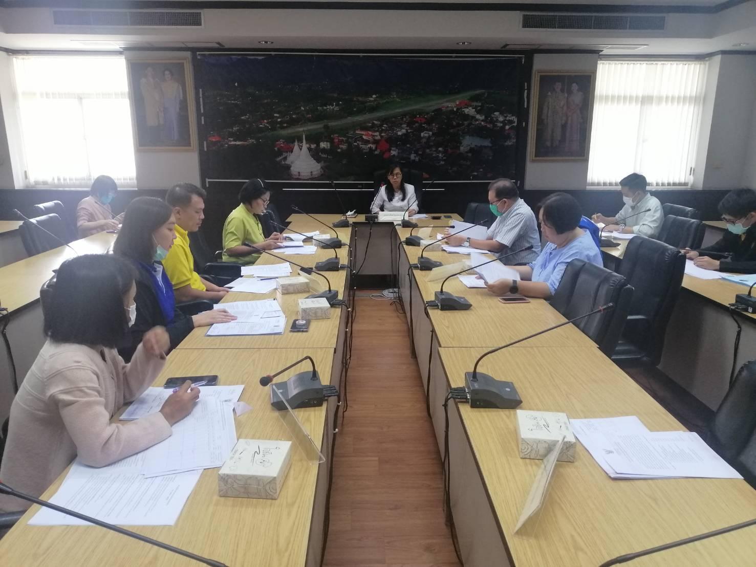 ประชุมคณะทำงานจัดทำแผนปฏิบัติการด้านแรงงานระดับจังหวัด (พ.ศ.2563 -2565)
