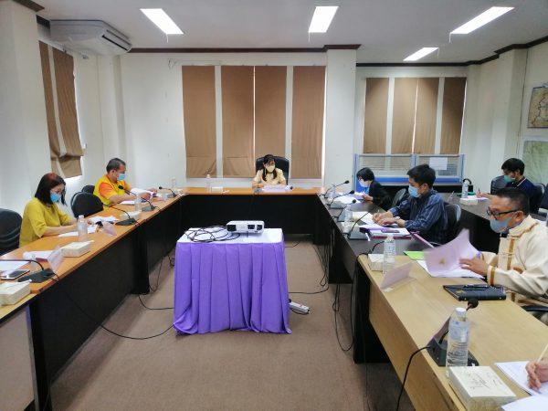 การประชุมคณะทำงานจัดทำแผนปฏิบัติการด้านแรงงานระดับจังหวัด (พ.ศ.2563 -2564) ฉบับทบทวน